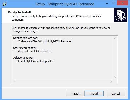 Fax Client Installation